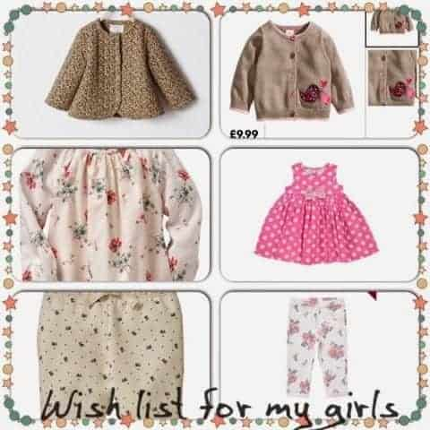 WANTED – clothing wish list