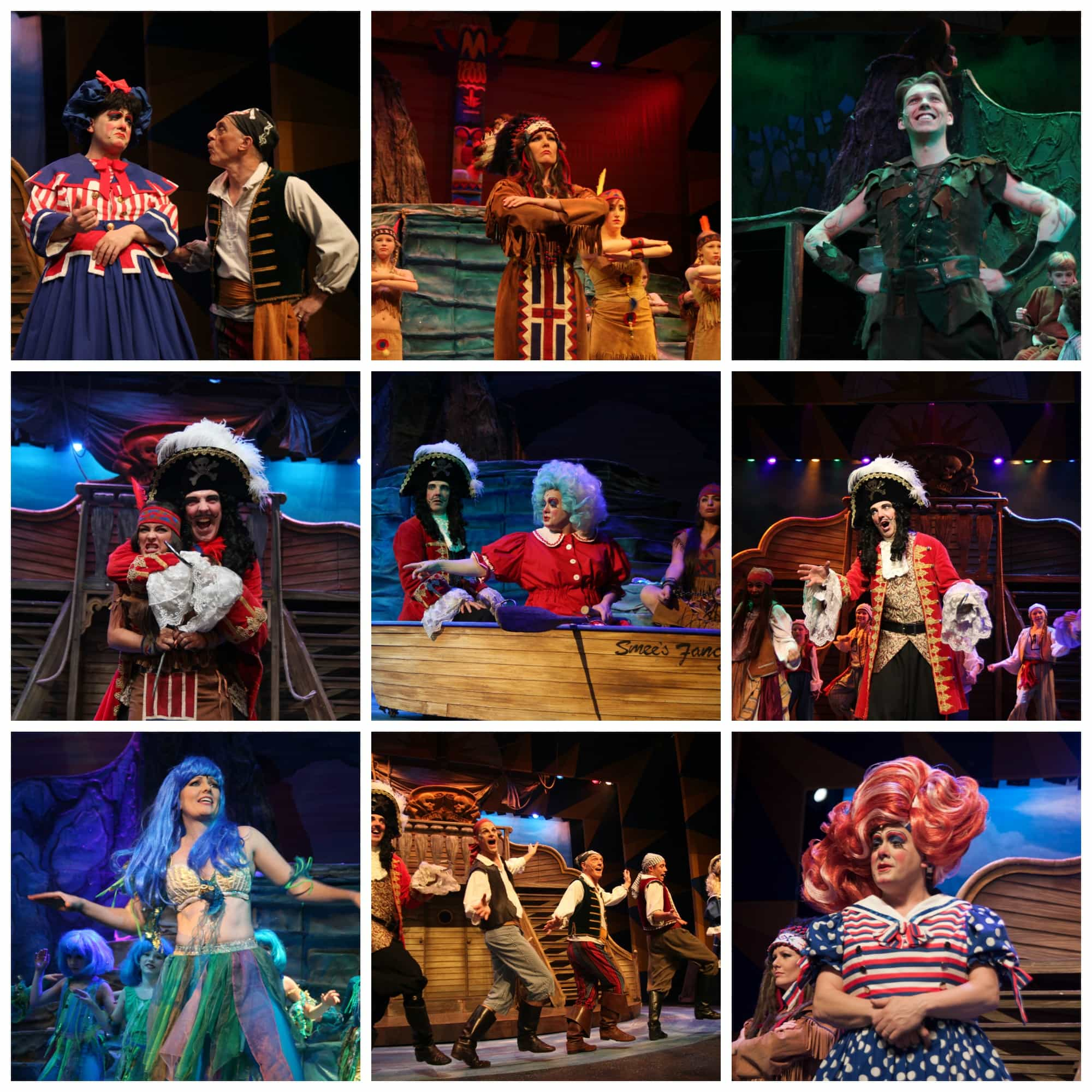 Peter Pan Theatre Severn