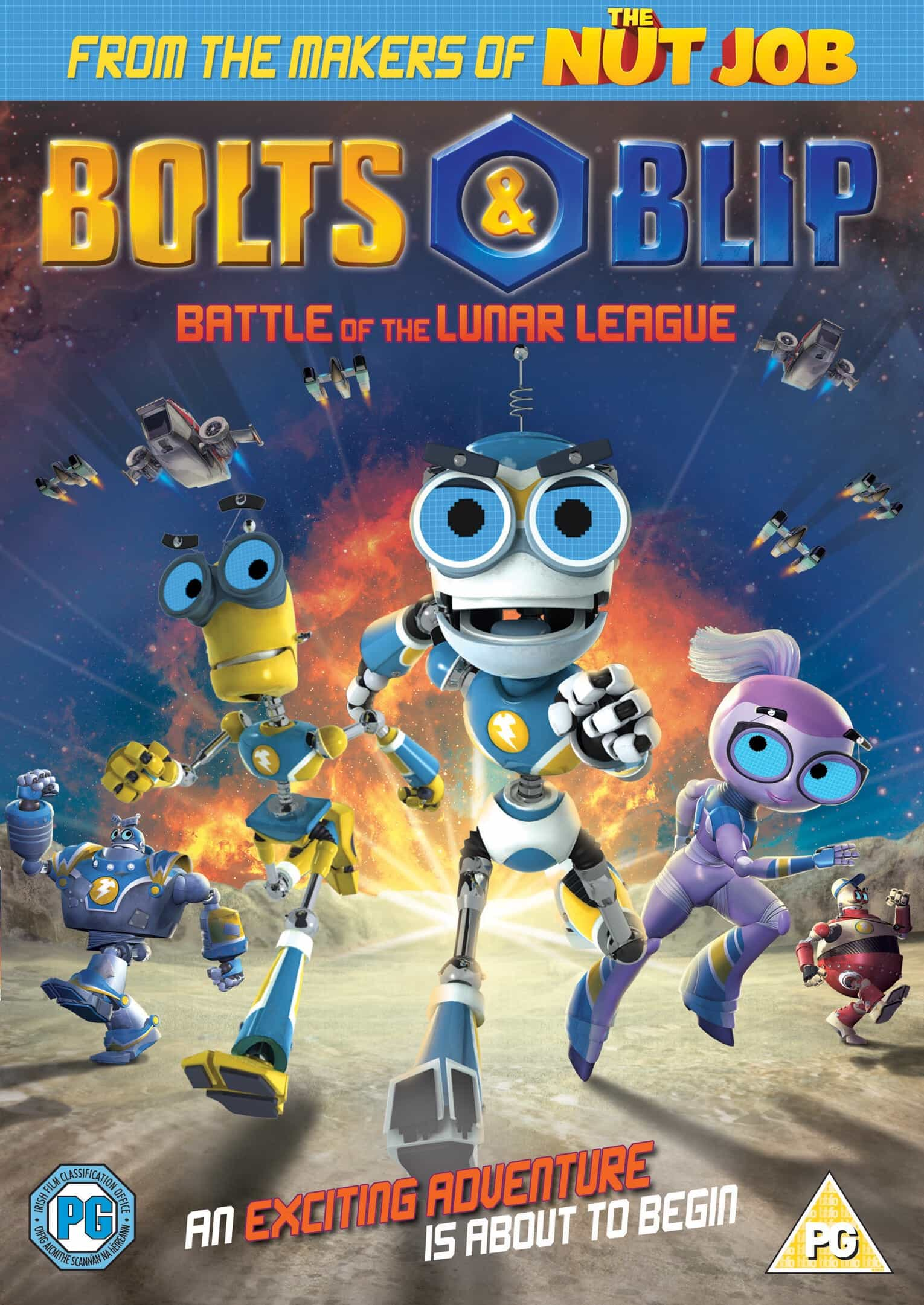 [Giveaway] Bolts and Blip DVD