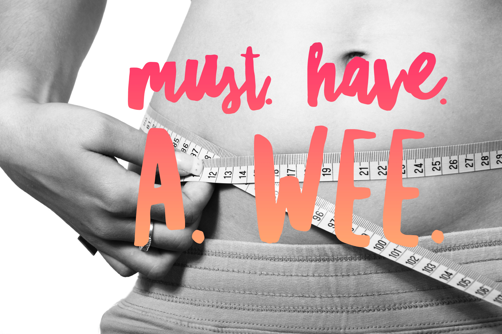 Slimming World Weigh In MUST DO'S