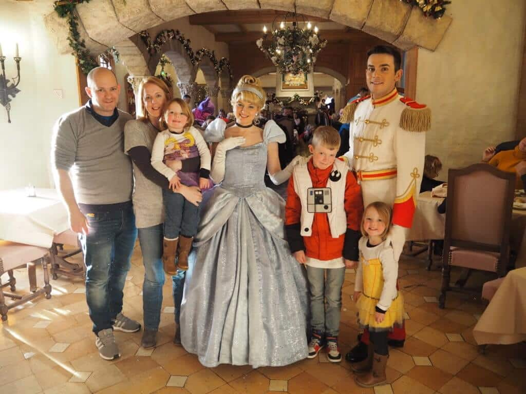 Lunch with the Princesses ADC Disneyland Paris