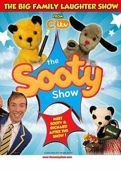 The Sooty Show at Theatre Severn in Shrewsbury, Shropshire, Sooty and Sweep
