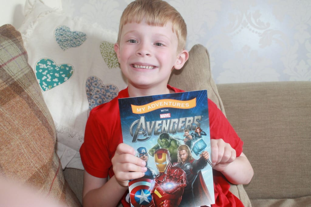 Personalised Gift Solutions Book Review & Frozen / Avengers Giveaway