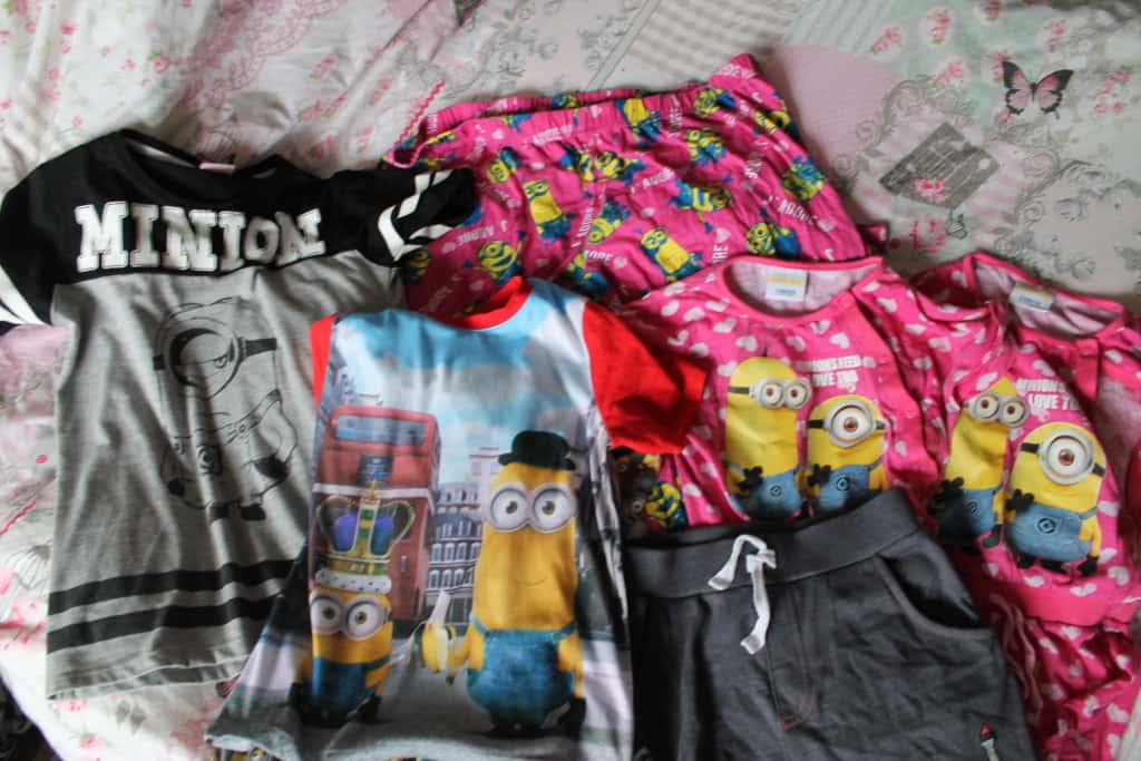 minion clothing asda