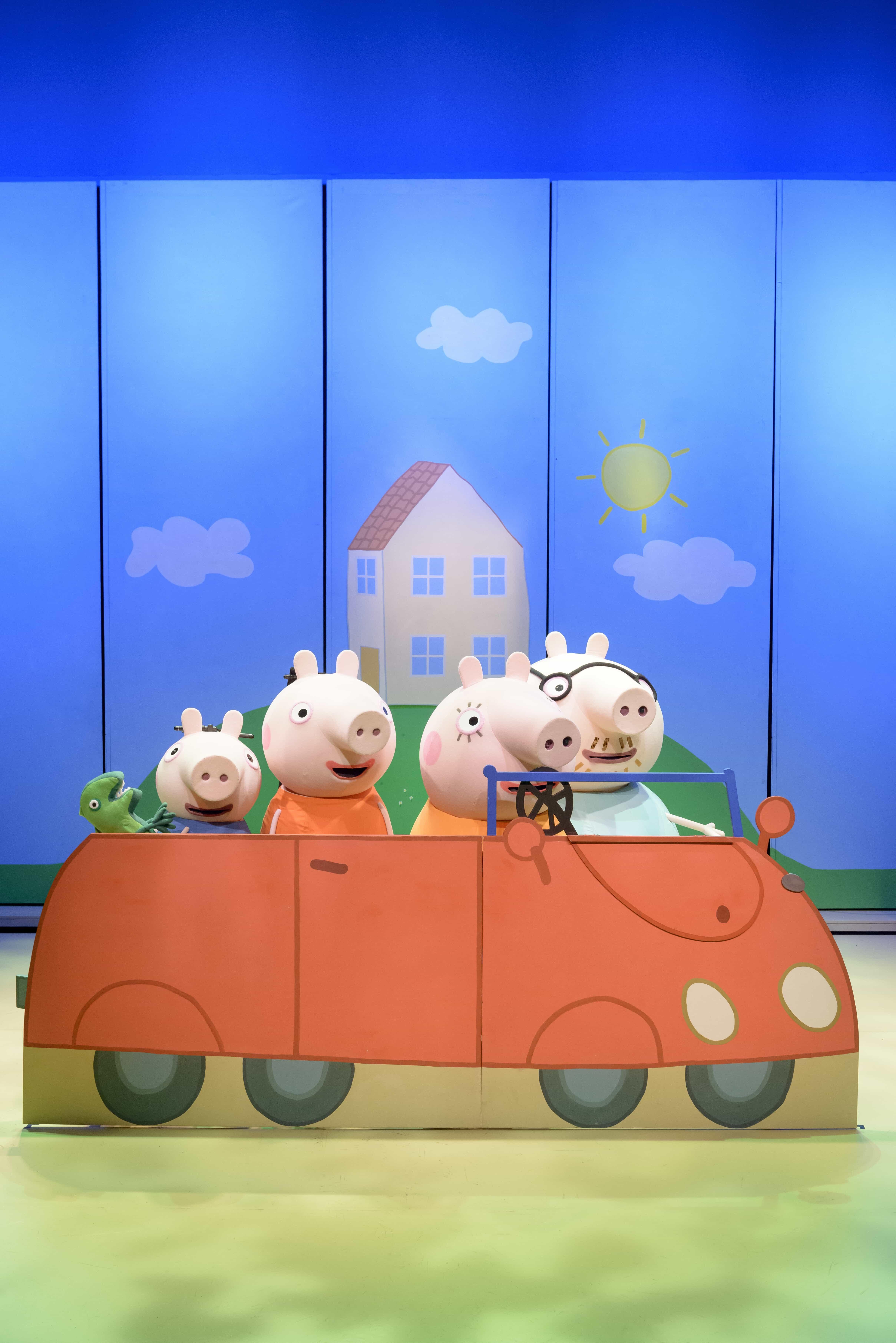peppa pig's surprise tour