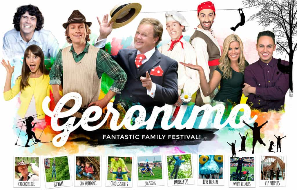 Geronimo Fest Family Ticket Giveaway