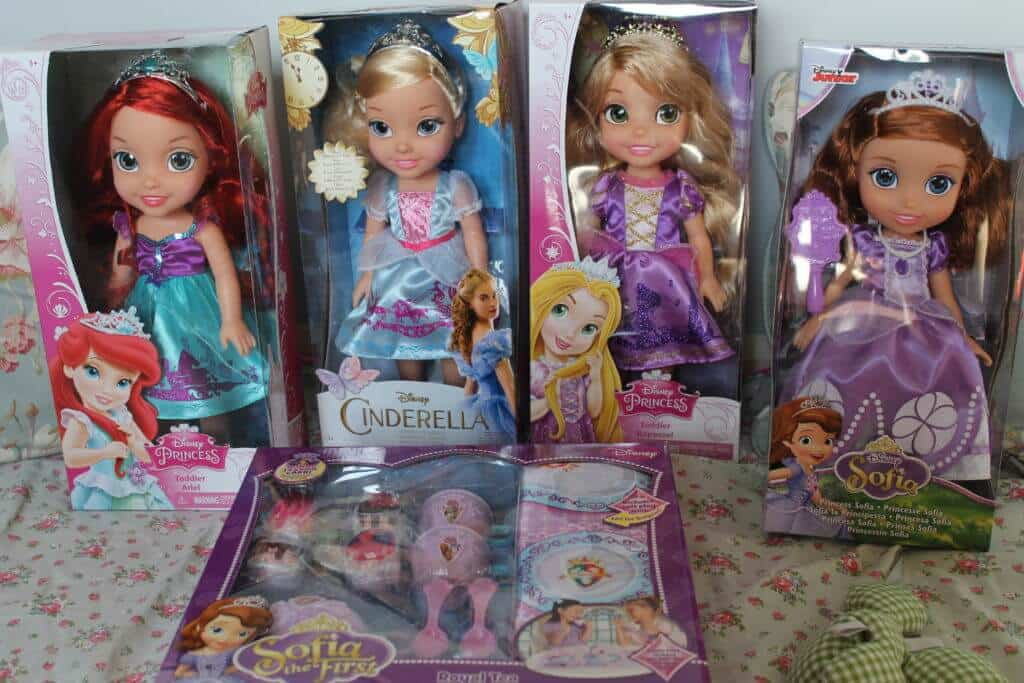 disney toddler princess dolls