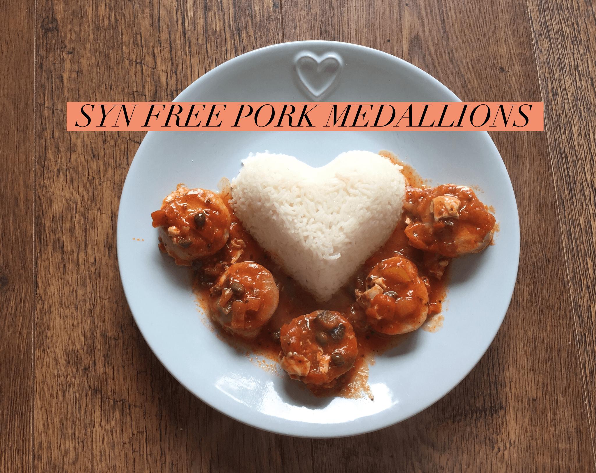 syn free pork medallions
