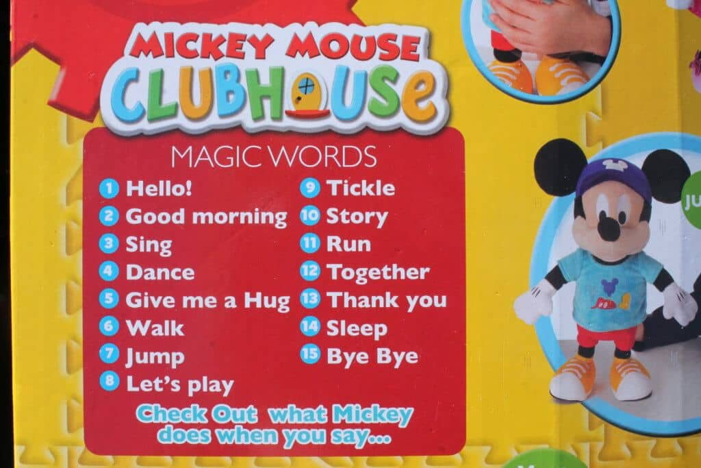 My Interactive Friend Mickey