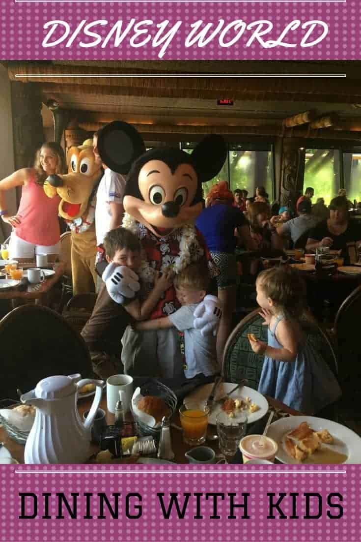 Eating at Disney World