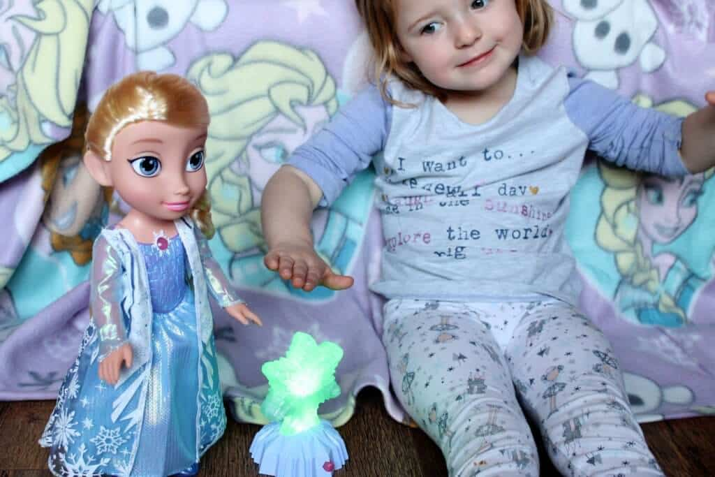 Frozen Northern Lights Elsa Doll Review #FrozenNorthernLights