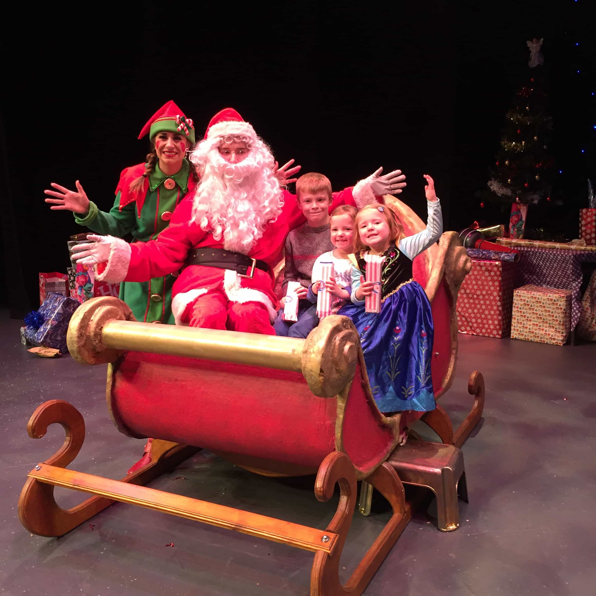 Santa's New Sleigh at Theatre Severn, Shrewsbury