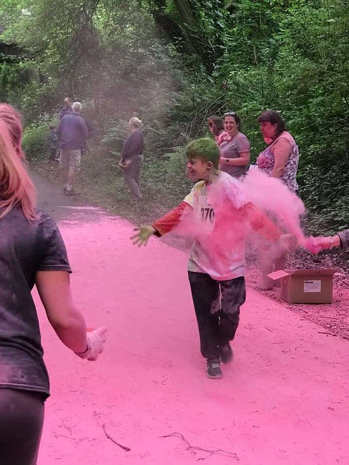Colour Runs, Miranda and Chester Zoo #LittleLoves