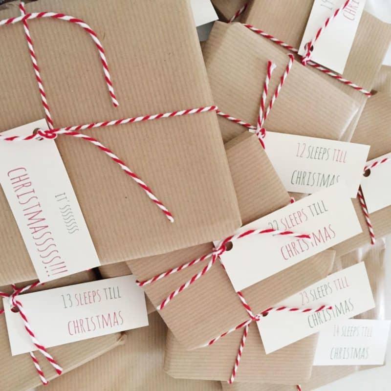 Chocolate Free Advent Calendar