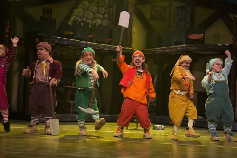 Snow White and the Seven Dwarfs Theatre Severn Shrewsbury Pantomine