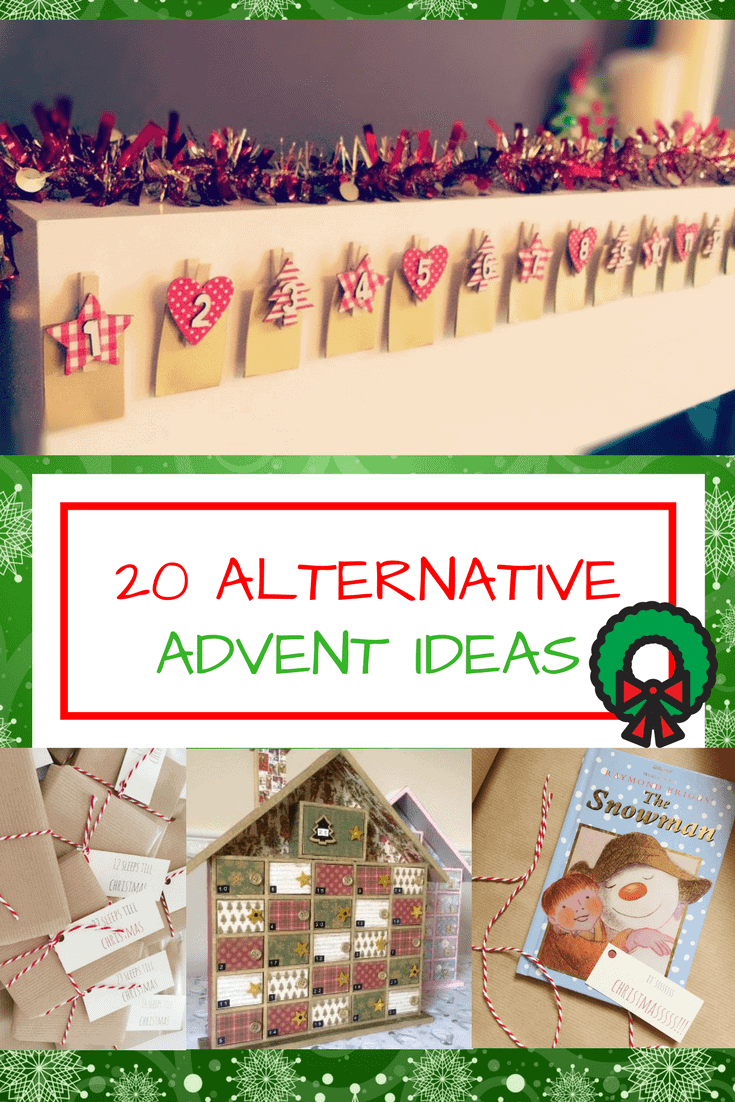 Advent Calendar Ideas Not Chocolate : Chocolate free advent calendar